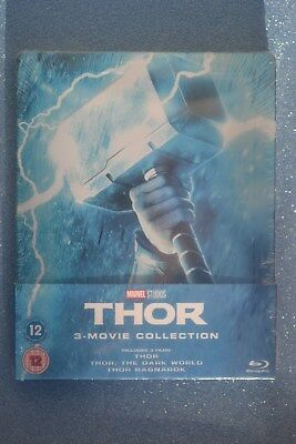 New and Sealed Thor Steelbook Bluray Trilogy - UK Limited Edition