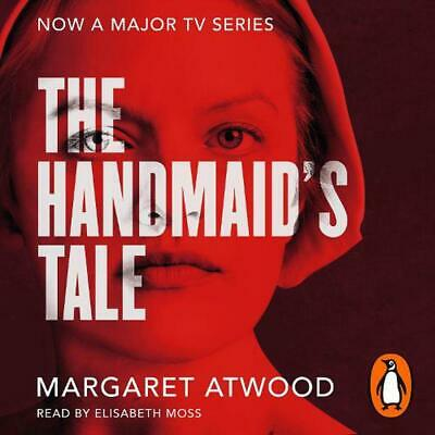 Handmaid's Tale by Margaret Atwood Compact Disc Book Free Shipping!
