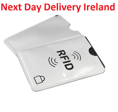 5/10 RFID Blocking Credit Card Bank Card Protector Holder Case Wallet Protection