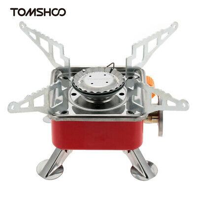 Portable Collapsible Backpacking Butane Gas Camping Stove Burner 2800W TO N6L4