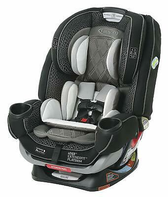 Graco 4Ever Extend2Fit Platinum 4-in-1 Car Seat in Hurley New!! Free Shipping!