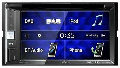 JVC KW-V255DBT Doppel-DIN CD/DVD/MP3-Autoradio Touchscreen DAB Bluetooth USB iPo