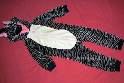 Mamas and Papas Girl Zebra Fancy Dress Warm All in One - size 2-3 years