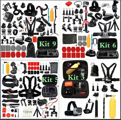 Accessories Kit For GoPro Hero 7/6/5/4 Model Black Action Camera New GoPro HERO7