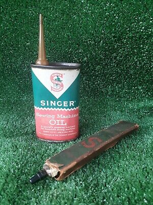Singer Oil Can Singer Grease Tube Singer Sewing Machine Accessories (314)