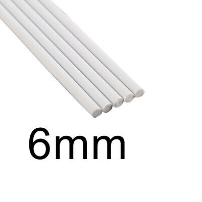 White ABS Rod Plastic Assorted Cylinder Pole DIY Table Model Hot 2018 Latest