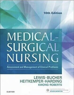 TEXT BOOK Medical Surgical Nursing 10th Edition Lewis ⭐️SEE NOTE⭐️