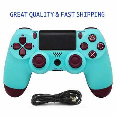For SONY Dualshock 4 PlayStation 4 PS4 Pro Wireless Controller 2nd Gen   *Blue*