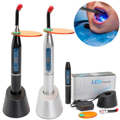 Dental LED Cure Lamp Wireless Cordless 5W 1500mw Curing Light Lamp Tools Kits FT