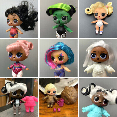 LOL Surprise Dolls #HAIRGOALS BHADDIE Splatters SNOW BUNNY toys - Color Changed