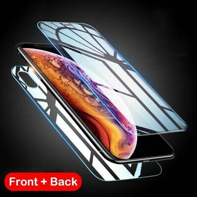 Front+Back Clear Full Protective Screen Protector Film For iPhone X XS XR MAX
