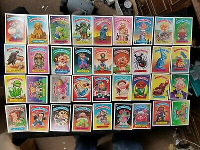 72 1985 1986 Garbage Pail Kids Cards / Stickers Topps