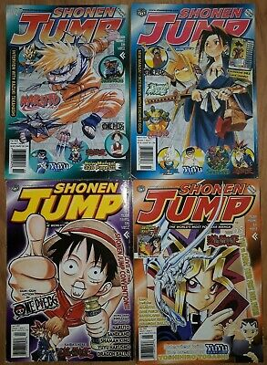 Shonen jump magazine 2003 incomplete (11 issues)