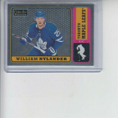 18/19 OPC Platinum Toronto Maple Leafs William Nylander Retro card #R-11
