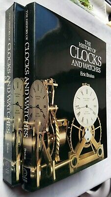 Eric Bruton The History Of Clocks And Watches 1St/1 1979 Cased Bw Colour Unread