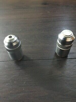 Leitz Wetzlar EF  Microscope Objective TL 160mm 519765. RMS Thread and 519860