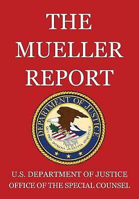 Mueller Report by U.S. Department Of Justice (English) Paperback Book Free Shipp
