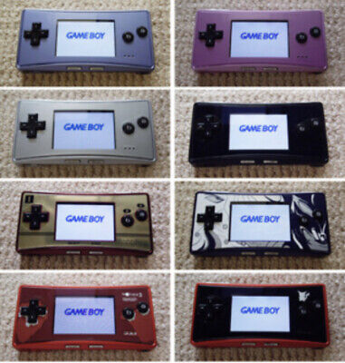 【8 types】Used Nintendo Game Boy Micro Console JAPAN