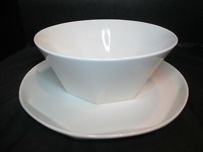 Brian Gluckstein By Lenox Large Serving Bowl Cake Plate/Platter Metro Pattern