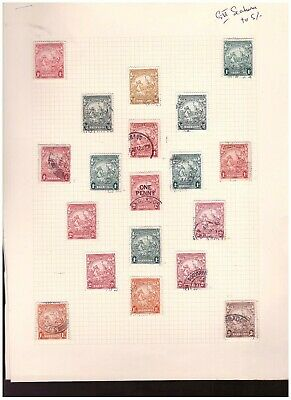 Barbados Unchecked Used H Lot d03378