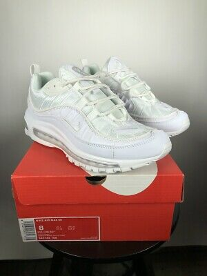 outlet store 10415 45a61 98 Airmax Triple White Nike sneakers size 8 shoes icy white eur size 41  classic