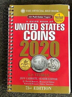 2020 United States Coins Red Book Spiral 73rd Edition New Available Today