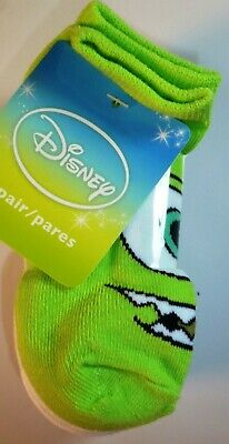 6 Pairs Disney Boys Girls Monsters Toy Story Incredibles Socks Size 6-7.5 L188
