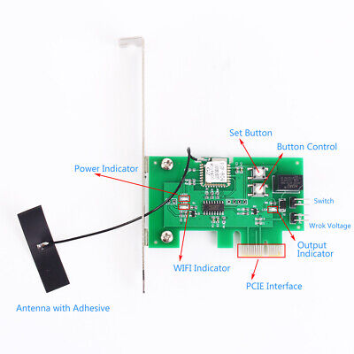 Wireless WIFI Intelligent Control Switch Computer Remote Power Supply Controller