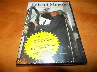 LELAND MARTIN  Greatest Video Hits Country Music Hits Performance DVD SEALED NEW
