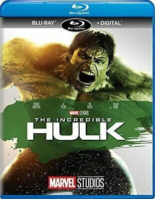 The Incredible Hulk Edward Norton Louis Leterrier Blu-ray Action & Adventure NEW