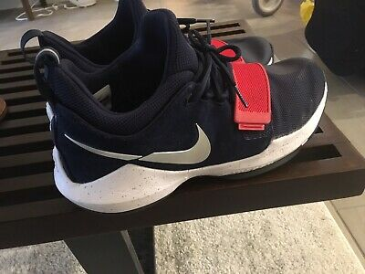 ccc7ba3d2662 878627 900 Nike Pg 1 Paul George Usa Olympics Navy Red White Size 9.5 Mens