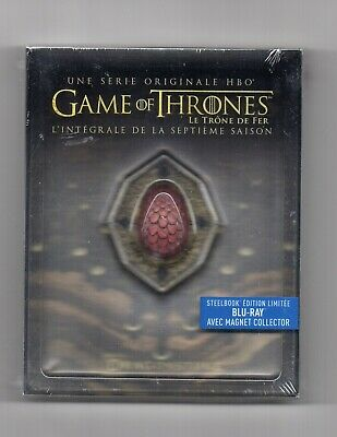 Game of Thrones - Season 7 - Blu-ray Steelbook - NEW/SEALED - All Regions: ABC