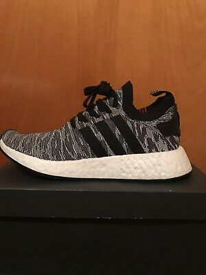 523b8c89a6a98 Adidas Men s Sneakers Size 12 NMD R2 PK With Box BY9410 Primeknit Gray White
