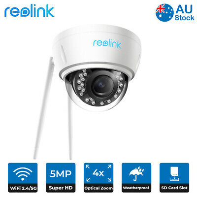 5MP Wireless WIFI IP Security Camera Autofocus Zoom Home Safety Reolink RLC-422W