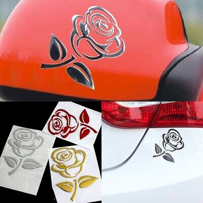 Flower Car Stickers Wing Mirror Girly Graphic Decal Car Wing Door Mirror Sticker