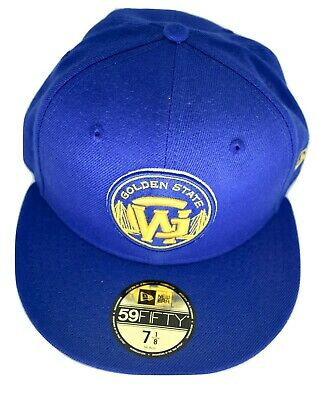 f0ef3b161e456c New Era 59Fifty Mens NBA Golden State Warriors Basketball Fitted Hat Cap New
