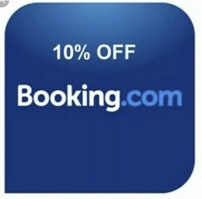 BOOKING.COM 10% off A6248703 discount voucher code SAVE Use Code: A6248703