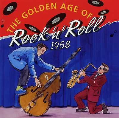 The Golden Years Of Rock 'N' Roll 1958 - Gene Vincent Platters - 3 Cds - New!!