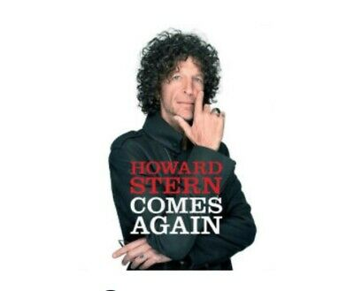 Howard Stern, Comes Again, Brand New! Hardcover!