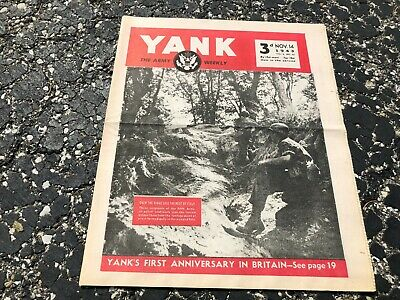 NOV 14 1943 YANK military magazine WWII (BRITISH) pinup - HEDY LAMARR