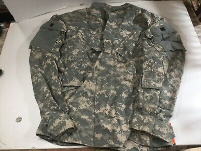 US Military Issue BDU ACU Digital Army Shirt Jacket Desert Camo Fatigue Medium