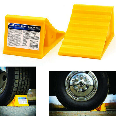 Camper Wheel Chocks >> 4 Pack Camco 44472 Wheel Chock With Rope For Rv Pop Up