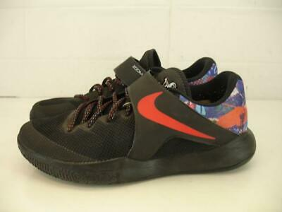 f6766be122ea Mens 11 45 NIKE ZOOM LIVE 2017 EP Black Red Colorful Basketball Shoes  Graffiti