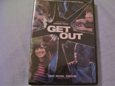 Get Out DVD with bonus features-NEW-