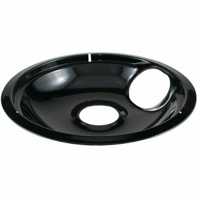 "Stanco 414-8 Whirlpool Black Porcelain Replacement Bowls [8""] (4148)"