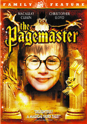 The Pagemaster (DVD,1994)
