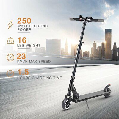 BIBENE Portable Folding Electric Scooter 250W Motor for Adult Kids 13+ Teenagers