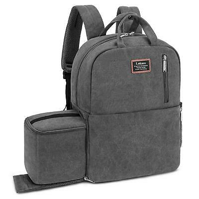 """15.6"""" Laptop Backpack DSLR Camera Bag Compatible for Sony Canon Nikon Olympus"""