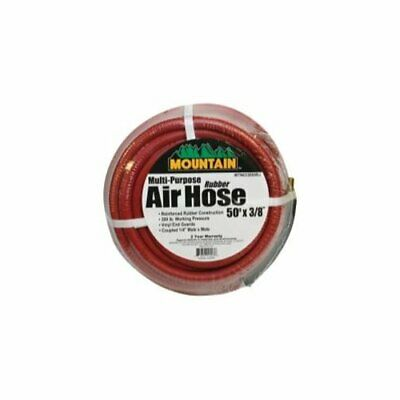 Mountain 91004005 Multi-purpose Rubber Air Hose 50 Ft. X 3/8 In.
