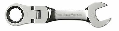 Gearwrench 12 Mm Stubby Flex Combination Ratcheting Wrench (eht9553)